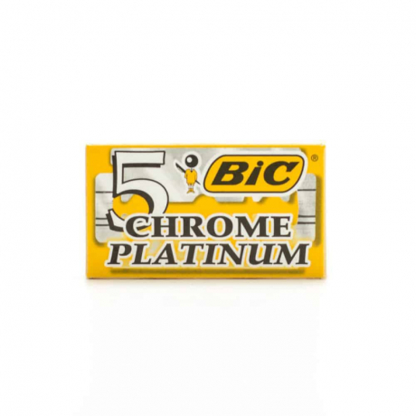 ឡាម Bic 5 chrome platinum