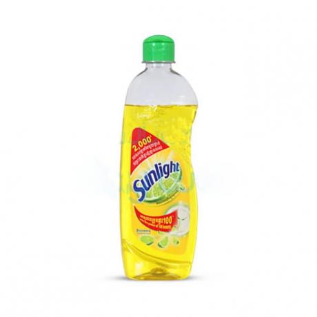 សាប៊ូលាងចាន សាន់ឡៃក្រូចឆ្មារ Sunlight  HDW Lemon 380ml