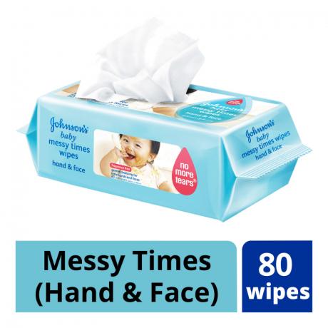 កន្សែងសើម JB Messy Times Wipe 20pcs x3