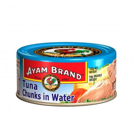 ត្រីខកំប៉ុង ធូនា Tuna chunk in water24x150g
