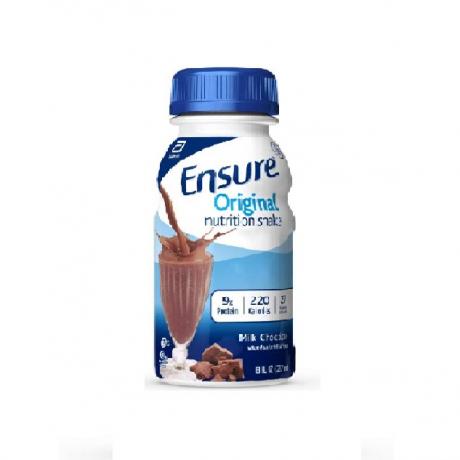 ទឹកដោះគោ Ensure RPB Chocolate 237ML
