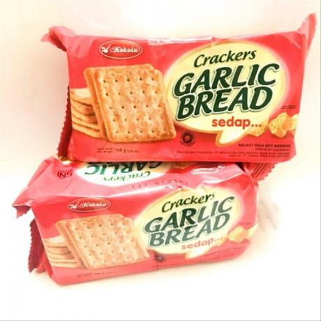 នំស្រួយ Kokola Garlic Bread Crackers 108g