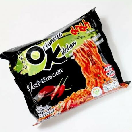 មីកញ្ចប់ អូខេ Mama Kitchen hot korean 85g