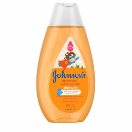 សាប៊ូដុសខ្លួន និងកក់សក់ JB Soft & Shiny Shampoo- 200ml AN