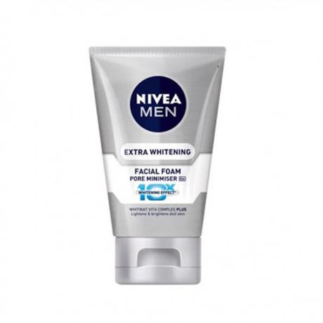 សាប៊ូលាងមុខបុរស NFM Whitening Facial Foam 100g x 24