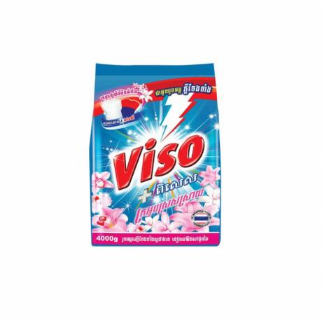 ម្សៅសាប៊ូ វីសូ Viso Pises Powder Refresh 400g