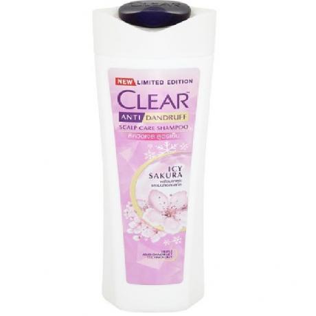 សាប៊ូកក់សក់ក្លៀរ អាយស៊ីសាគូរ៉ា Clear SH ICY Sakura 325ml