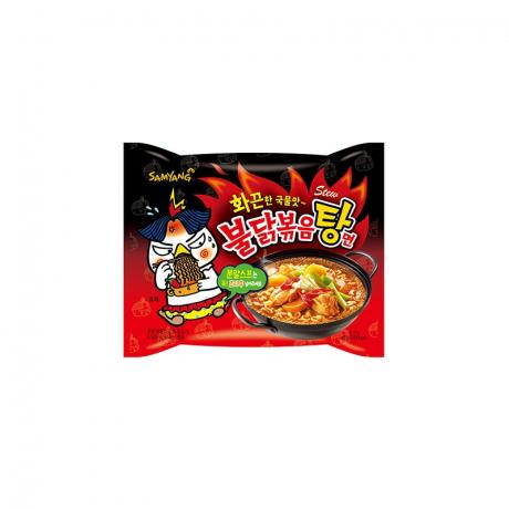 មីកូរ៉េទឹក Hot Chicken Flavor