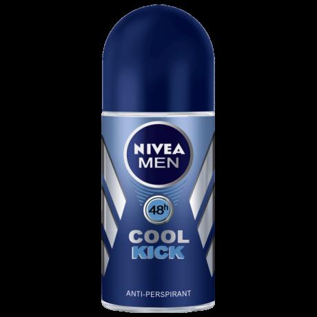 រ៉ូល អន លុញក្លៀក Nivea Men Cool Kick Roll-on 25ml X30