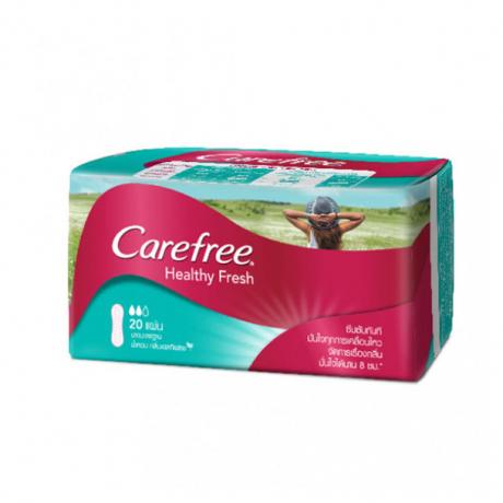 សំលី អនាម័យ Carefree Healthy Fresh 20 Pink