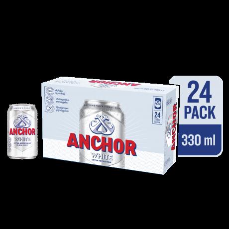 ស្រាបៀ អាន់ឆើវ៉ាយ Anchor White Beer 24x330ml