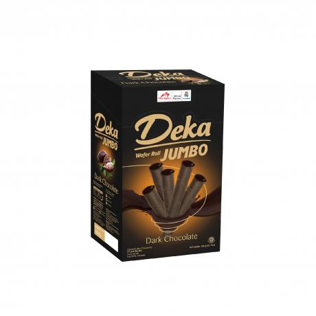 Deka Jumbo Dark Chocolate 24Boxes * 10Sticks * 16g
