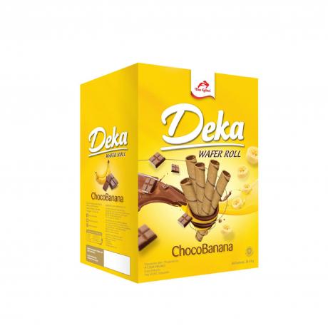 Deka Wafer Choco-Banana 6Box * 24Stick * 9g