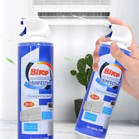 ហ្វូមលាងសម្អាតម៉ាស៊ីនត្រជាក់ AirConditioner Cleaning Spraying-Foam