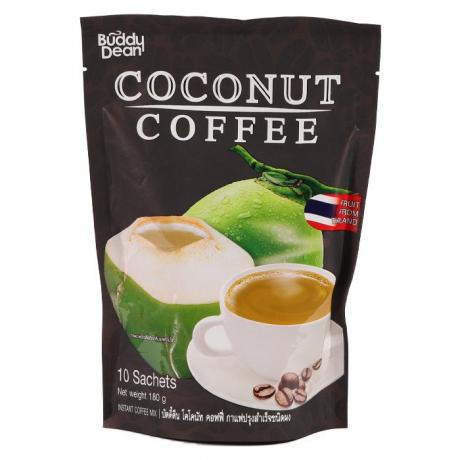 Buddy Dean Instant Coffee Mix (Coconut) 20Bag * 10Sachet * 18g