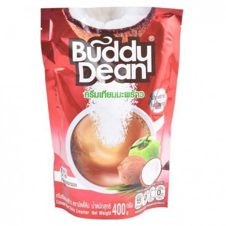 Buddy Dean Non Dairy Cream 400g (Coconut) 12Bag * 400g