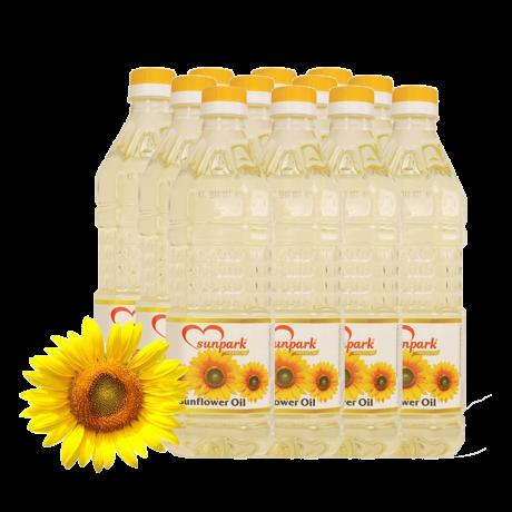 Oil sunpark sunflower 1L * 12Bottle