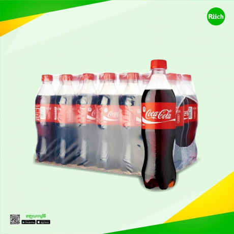 Coca-Cola 600ml 24 Bottles