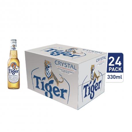 ស្រាបៀថៃហ្គ័រគ្រីសស្តាល៍ដប Tiger Cristal 330ml x24bottles