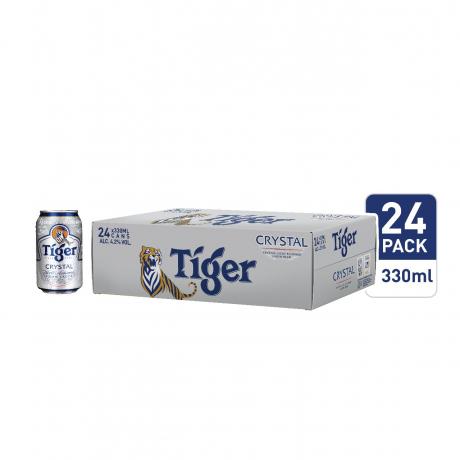 ស្រាបៀថៃហ្គ័រគ្រីសស្តាល៍ 24កំប៉ុង Tiger Cristal