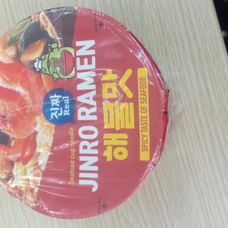 មី jinro raman spicy taste