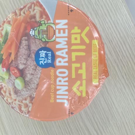 មី jinro real taste of beef