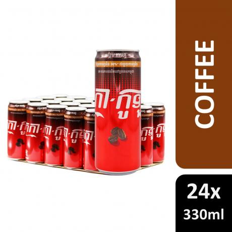 កូកាកូទ្បាកាហ្វេ Coca-Cola Coffee 330ml Sleek 24C