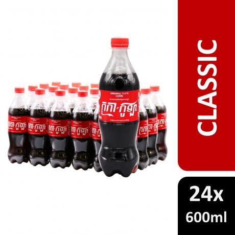 កូកាដប Coca-Cola 350ml 24 Bottles