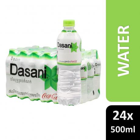 ទឹកបរិសុទ្ធដាសានី Dasani 500ml*24 Bottles