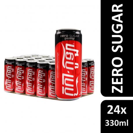 Coca-Cola Coffee 330ml Sleek 24C