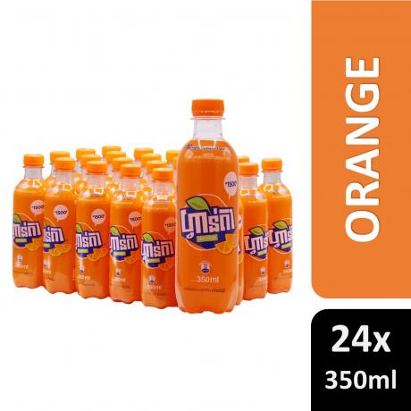 Fanta Orange 350ml 24 Bottles