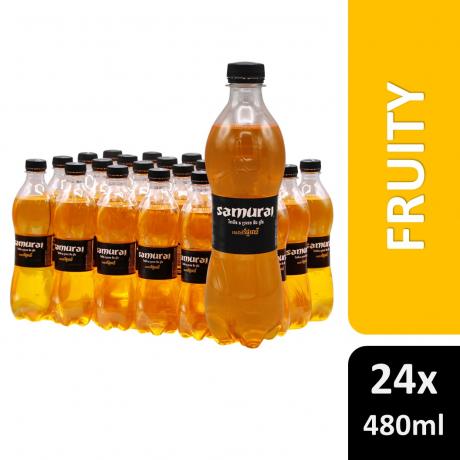 Samurai Fruity Flavor 480ml 24 Bottles
