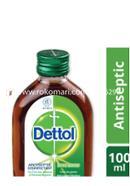 Dettol Antiseptic Disinfectant Liquid 100ml Glass Bottle