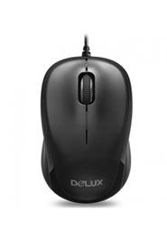 Delux Optical Mouse- DLM-131BU