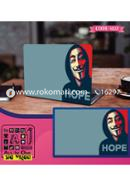 HOPE Design Laptop Sticker