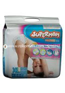 Supermom Baby Diaper-Extra Large Size(12-17kg)-20 Pcs