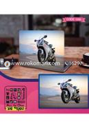 Motorbike Design Laptop Sticker