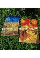 Night Cafe and Wheatfield with Crows Notebook (SN201909119 and SN201903105) 4*3 12-Pack