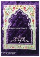 China Soft Muslim Prayer Jaynamaz (Purple) - Any Design