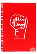 May Day Spiral Notebook - Red Color (SN201903102)