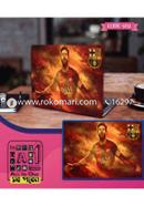Messi Barca Design Laptop Sticker