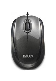 DELUX OPTICAL USB MOUSE DLM-126BU