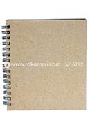 Artist Notebook Silver Spiral