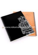 Khata Robot-Black Cover (200 Pages)