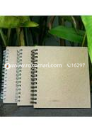 Artist Notebook White, Black and Silver Spiral 3 Pack