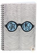 Stay Focused Note Book Floral (JCNB04) - 01 Pcs