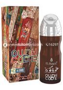 Al-Nuaim OUDH CODE Attar - 20 ml (Roll On)