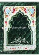 China Soft Muslim Prayer Jaynamaz (Green) - Any Design