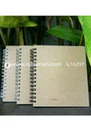 Artist Notebook Black and Silver Spiral 2 Pack