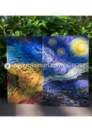 Starry Night and Wheatfield with Crows Notebook (SN201903104 and SN201903105)